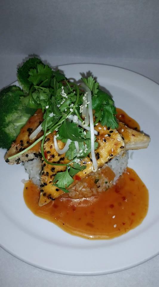 June Bug Cafe Crispy tofu