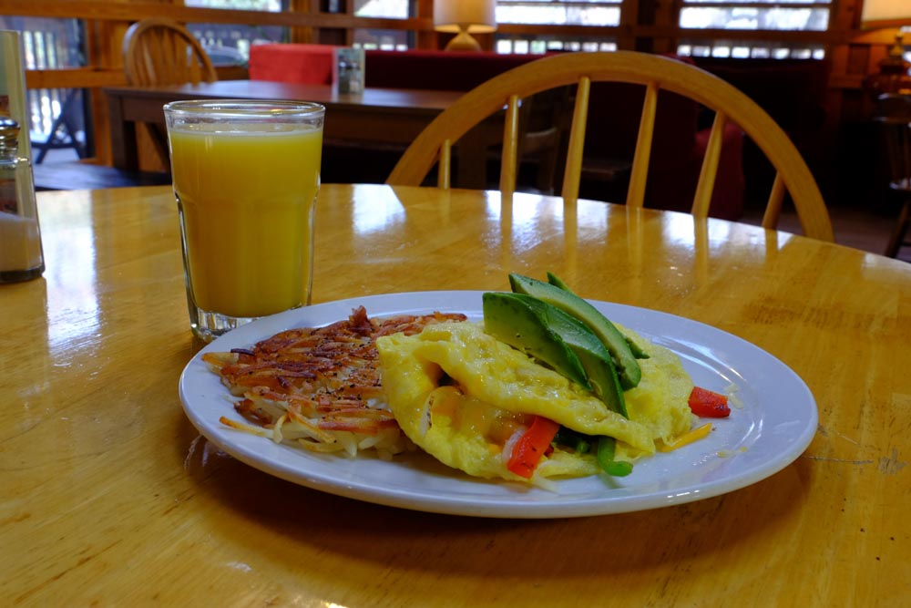 June Bug Cafe Eggs and Hashbrowns