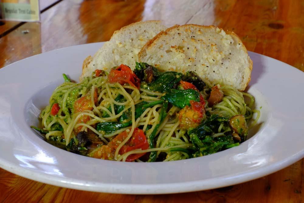 June Bug Cafe Dinner Pasta