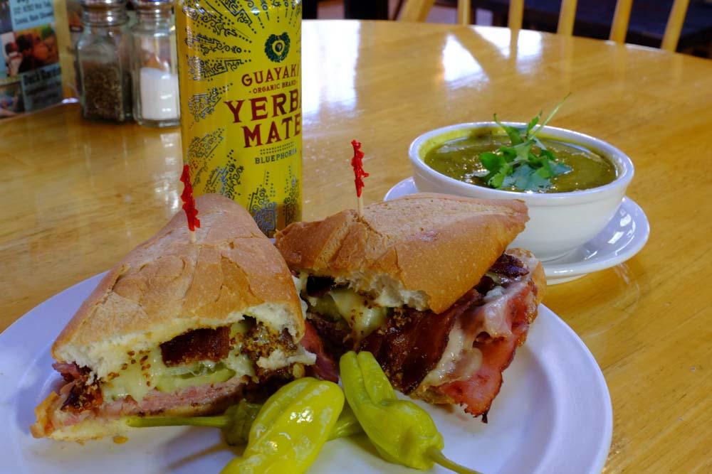 June Bug Cafe Lunch Hot Sandwich