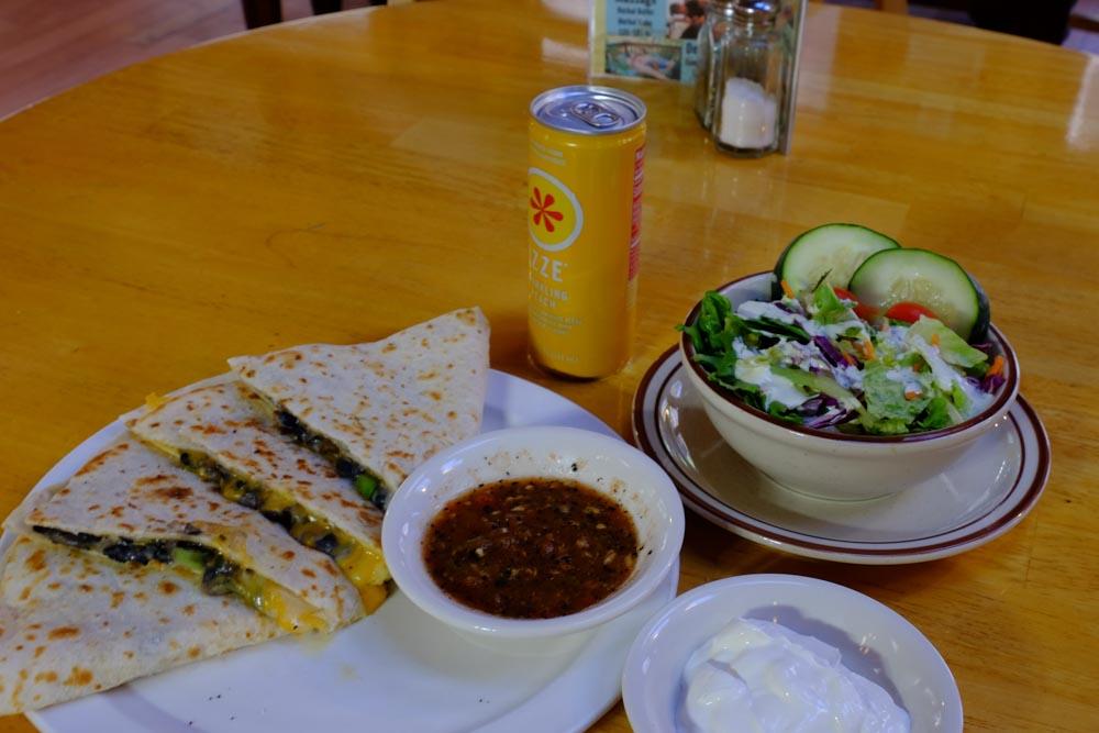 June Bug Cafe Lunch Quesadilla