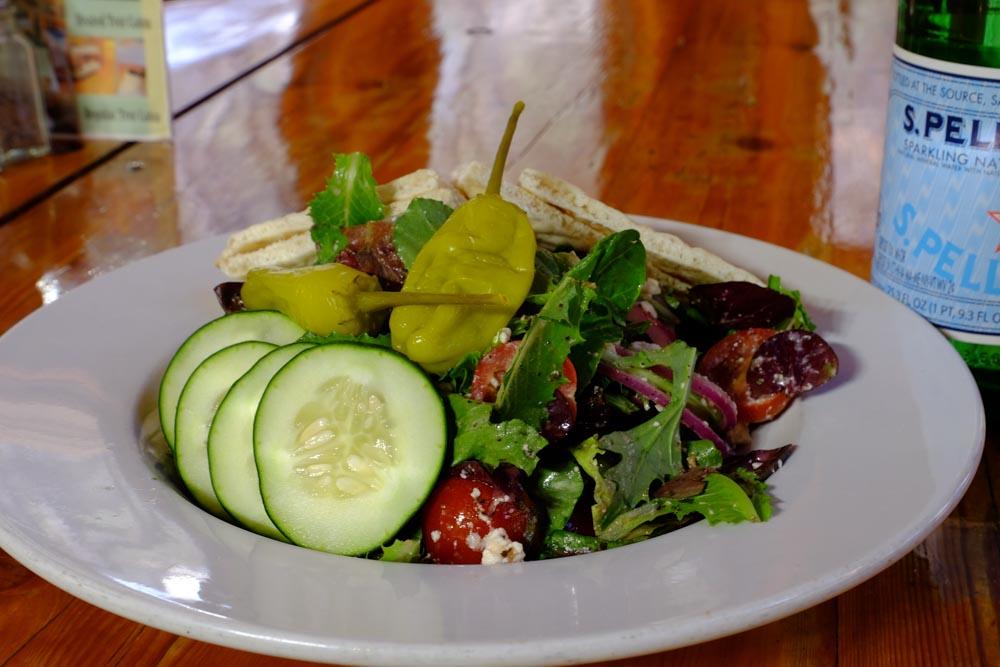 June Bug Cafe Lunch Salad