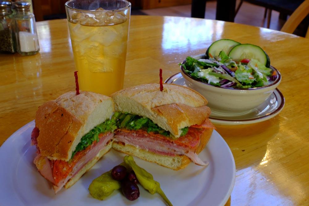 June Bug Cafe Lunch Sandwich