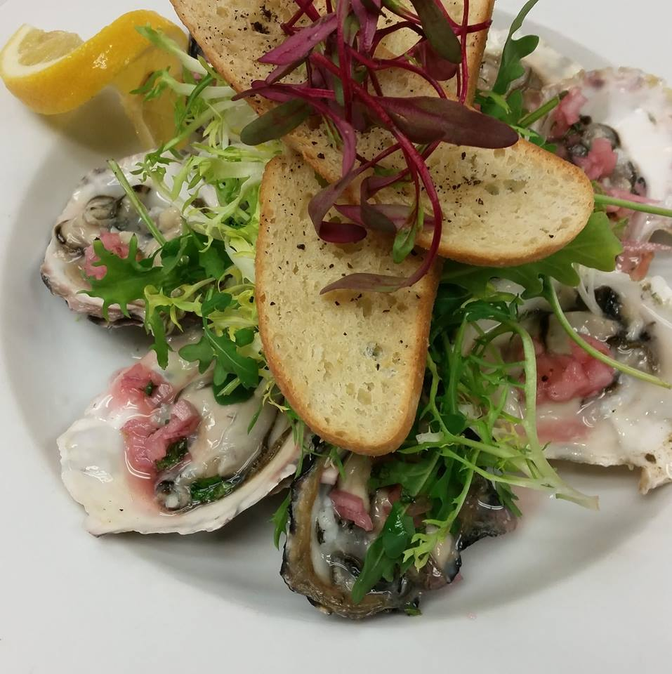 June Bug Cafe Oysters