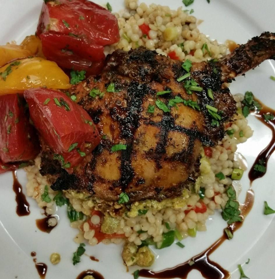 June Bug Cafe pork chop