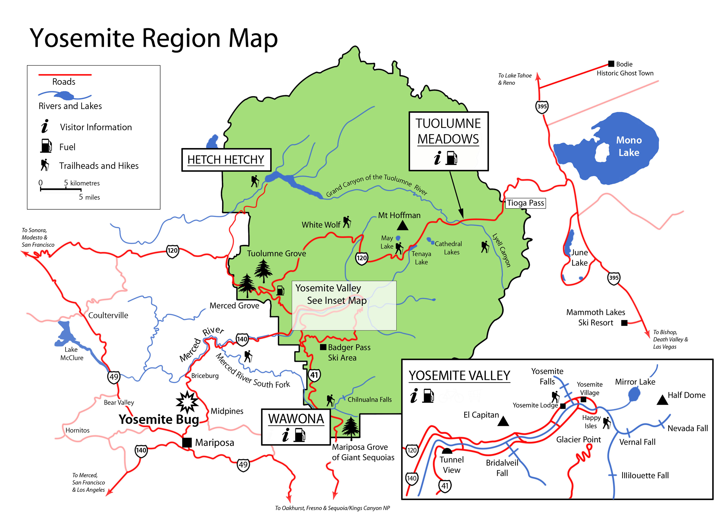 Yosemite Accommodation Map Related Keywords and Suggestions – Yosemite Tourist Map