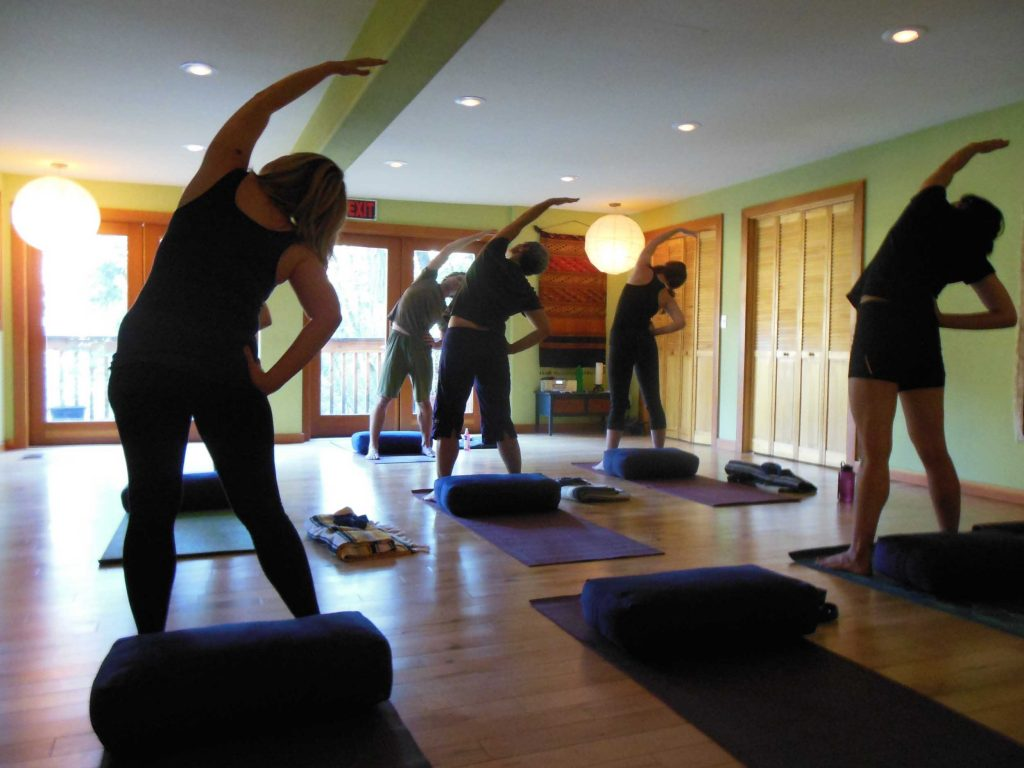 Yosemite Health Spa yoga class