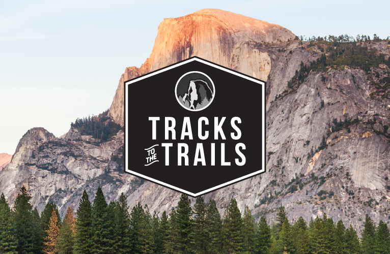 Tracks to the Trails logo